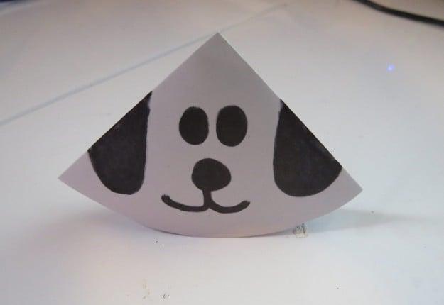 Dog-Ear Envelope Bookmark